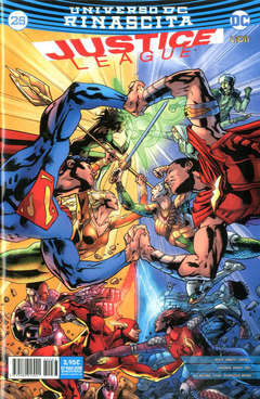 Copertina JUSTICE LEAGUE n.83 - JUSTICE LEAGUE 25, RW LION