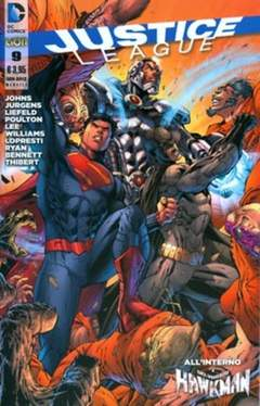 Copertina JUSTICE LEAGUE n.9 - JUSTICE LEAGUE, RW LION
