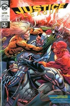 Copertina JUSTICE LEAGUE #95 Variant n. - JUSTICE LEAGUE #37 Rinascita Variant Cover, RW LION