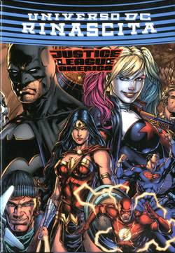 Copertina JUSTICE LEAGUE AMERICA n.s.7 J n. - JUSTICE LEAGUE AMERICA 7 Jumbo Edition + Cofanetto, RW LION