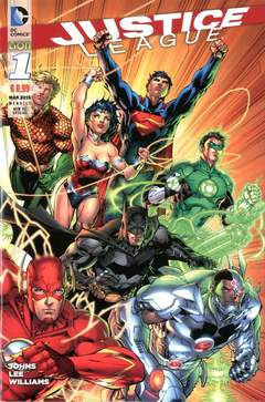 Copertina JUSTICE LEAGUE NEW 52 SPECIAL n.1 - JUSTICE LEAGUE, RW LION