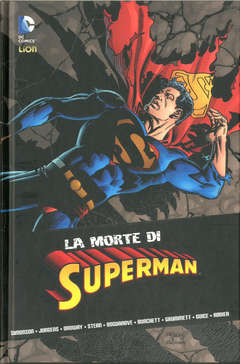 Copertina MORTE DI SUPERMAN n. - LA MORTE DI SUPERMAN, RW LION