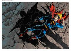 Copertina MORTE E IL RITORNO DI SUPERMAN n.1 - LA MORTE E IL RITORNO DI SUPERMAN, RW LION