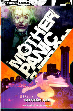 Copertina MOTHER PANIC n.3 - GOTHAM A.D., RW LION