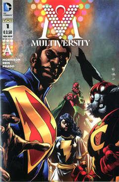 Copertina MULTIVERSITY n.1 - MULTIVERSITY - Cover A, RW LION
