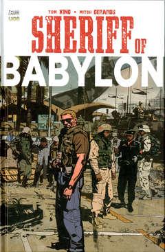 Copertina SHERIFF OF BABYLON n. - SHERIFF OF BABYLON, RW LION