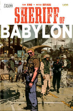 Copertina SHERIFF OF BABYLON Brossurato n. - SHERIFF OF BABYLON, RW LION