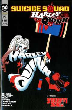 Copertina SUICIDE SQUAD/HARLEY QUINN n.22 - SUICIDE SQUAD/HARLEY QUINN, RW LION