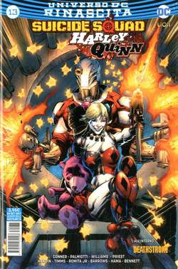 Copertina SUICIDE SQUAD/HARLEY QUINN n.35 - SUICIDE SQUAD/HARLEY QUINN 13, RW LION