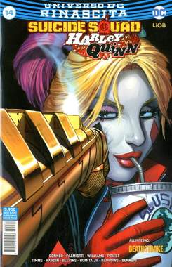 Copertina SUICIDE SQUAD/HARLEY QUINN n.36 - SUICIDE SQUAD/HARLEY QUINN 14, RW LION