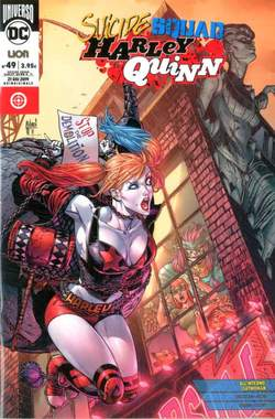 Copertina SUICIDE SQUAD/HARLEY QUINN n.71 - SUICIDE SQUAD/HARLEY QUINN 49, RW LION