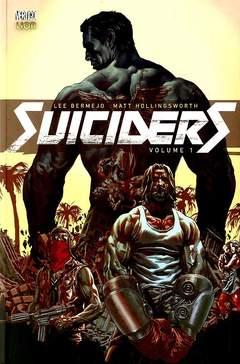 Copertina SUICIDERS n.1 - SUICIDERS, RW LION