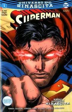 Copertina SUPERMAN n.1 - SUPERMAN, RW LION