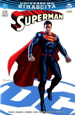 Copertina SUPERMAN #1 Variant Cover n.2 - Ultravariant Rinascita Silver Point, RW LION