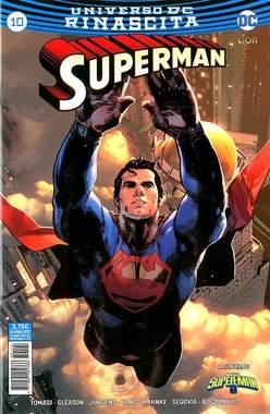 Copertina SUPERMAN n.10 - SUPERMAN, RW LION
