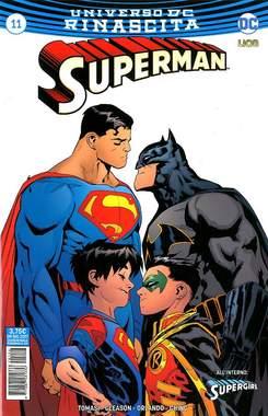 Copertina SUPERMAN n.11 - SUPERMAN, RW LION
