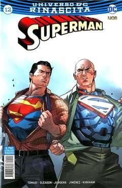 Copertina SUPERMAN n.12 - SUPERMAN, RW LION