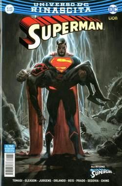 Copertina SUPERMAN n.15 - SUPERMAN, RW LION