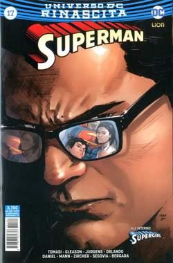 Copertina SUPERMAN n.17 - SUPERMAN, RW LION