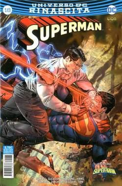 Copertina SUPERMAN n.18 - SUPERMAN, RW LION