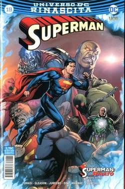 Copertina SUPERMAN n.19 - SUPERMAN, RW LION