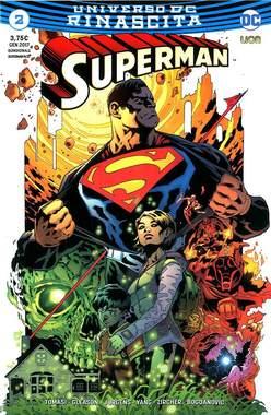 Copertina SUPERMAN n.2 - SUPERMAN, RW LION