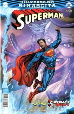 Copertina SUPERMAN n.20 - SUPERMAN, RW LION