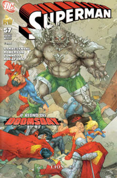 Copertina SUPERMAN 2007 n.57 - SUPERMAN, RW LION