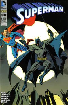 Copertina SUPERMAN 2012 #30 Variant n. - BATMAN 75 ANNI Variant, RW LION