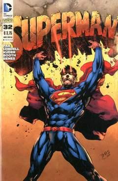 Copertina SUPERMAN 2012 n.32 - SUPERMAN, RW LION