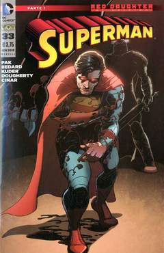 Copertina SUPERMAN 2012 n.33 - SUPERMAN, RW LION