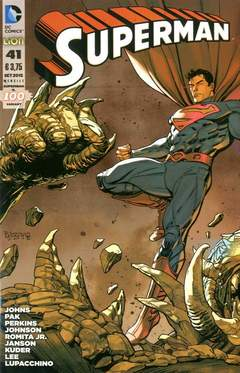 Copertina SUPERMAN 2012 #41 Variant n. - SUPERMAN - Cover Bruno BRINDISI, RW LION