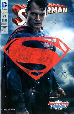Copertina SUPERMAN 2012 #47 Variant n.3 - Variant FOTOGRAFICA, RW LION