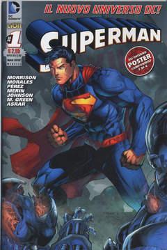 Copertina SUPERMAN 2012 n.1 - SUPERMAN, RW LION