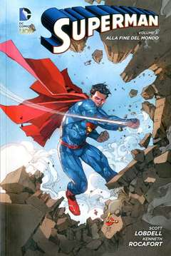 Copertina SUPERMAN 2012 Volume Bross. n.3 - ALLA FINE DEL MONDO, RW LION
