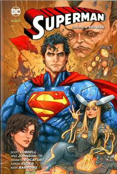 Copertina SUPERMAN 2012 Volume Bross. n.4 - PSY-WAR, RW LION