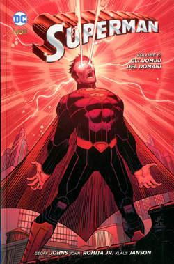 Copertina SUPERMAN 2012 Volume Bross. n.6 - GLI UOMINI DEL DOMANI, RW LION