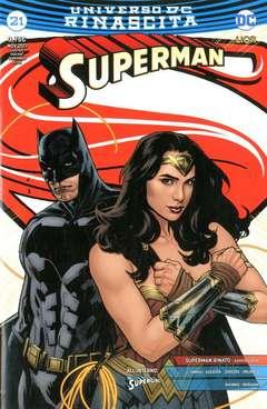 Copertina SUPERMAN #21 (S.J.V.C.) n. - Special Justice Variant Cover, RW LION