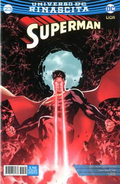 Copertina SUPERMAN n.23 - SUPERMAN, RW LION