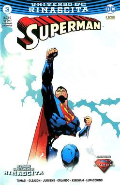 Copertina SUPERMAN n.3 - SUPERMAN, RW LION