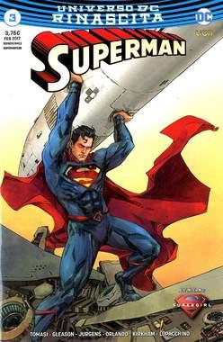 Copertina SUPERMAN #3 Variant Cover n.2 - Ultravariant Rinascita Silver Point, RW LION