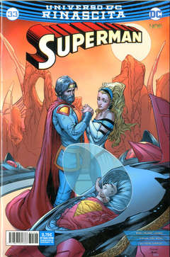 Copertina SUPERMAN n.33 - SUPERMAN, RW LION