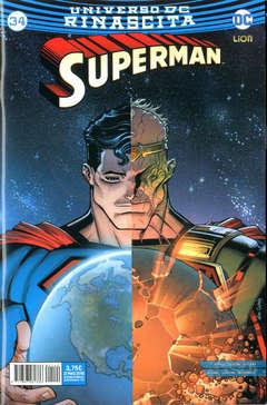 Copertina SUPERMAN n.34 - SUPERMAN, RW LION