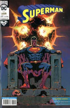 Copertina SUPERMAN n.37 - SUPERMAN, RW LION