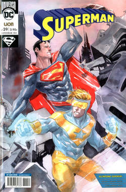 Copertina SUPERMAN n.39 - SUPERMAN, RW LION