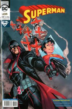 Copertina SUPERMAN n.40 - SUPERMAN, RW LION