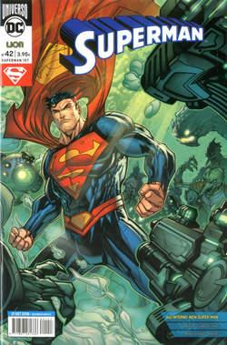 Copertina SUPERMAN n.42 - SUPERMAN, RW LION