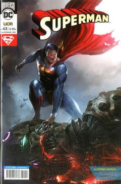 Copertina SUPERMAN n.43 - SUPERMAN, RW LION