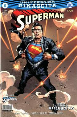 Copertina SUPERMAN n.5 - SUPERMAN, RW LION