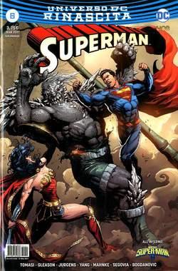 Copertina SUPERMAN n.6 - SUPERMAN, RW LION